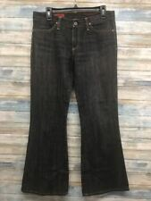Adriano Goldschmied AG Jeans 30 x 30 The Legend Flare Black Stretch (I-92)