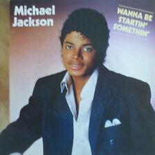 "7"" 1982 MINT- !  MICHAEL JACKSON : Wanna Be Startin´ Somethin´"