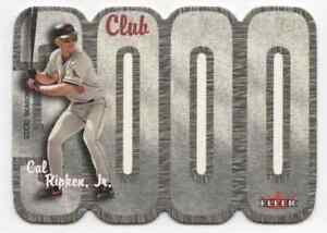 CAL RIPKEN JR. - 2000 FLEER 3000 CLUB #CR !