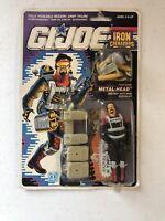 GI Joe 1990 Metal-Head v1 MOC Hasbro Action Figure 584
