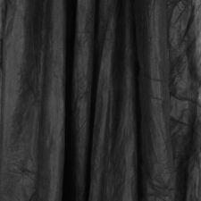 Studio Hintergrund Stoffhintergrund 3x6m schwarz, auch als Dekostoff geeig