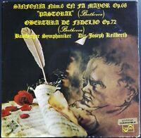 Beethoven - Symphony No. 6 & Fidelio Overture, KEILBERTH, Telefunken