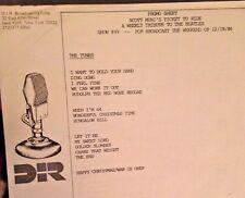 Radio Show: SCOTT MUNI TICKET TO RIDE #99 12/19/86  A BEATLES CHRISTMAS