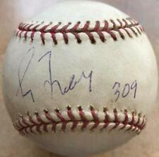 Greg Maddux Autographed Game Used 309th Win ROMLB Baseball MLB Hologram