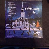 Christmas Is - OG 1974 vinyl LP - Steve Lawrence Eydie Gorme - Robert Goulet