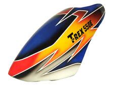 FUC-TX553E FUSUNO T-Rex 550 Sunset Fiberglass Airbrush Canopy