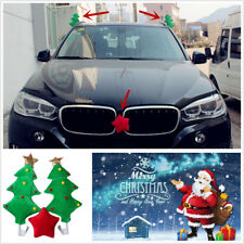 Cute Christmas Tree With Red Star Style Funny Decoration For Car Costume Gift