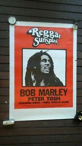 Reggae Sunsplash Original Poster 1979 Bob Marley,Peter Tosh.