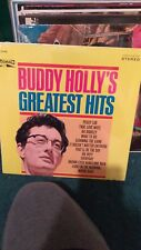 buddy holly's greatest hits crl-757492 sealed new original first pressing rare