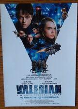 VALERIAN POLISH VERSION MOVIE PROMO FLYER New The Best Price !