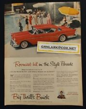 Large Vintage Buick 1957 Advertisment Ad 57 Special Century Roadmaster Super