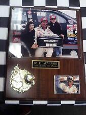 "Dale Earnhardt 1998 Daytona 500 Winner Plaque NASCAR auto racing 12""x15"" Win"