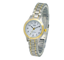 -Casio LTP1128G-7B Ladies' Metal Fashion Watch Brand New & 100% Authentic