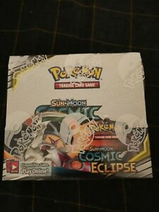 Pokemon Cosmic Eclipse Sun And Moon Booster Box Brand New And Sealed