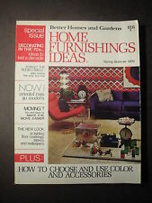 HOME FURNISHINGS IDEAS Better Homes and Gardens Spring-Summer 1970