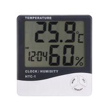 Compteur Thermomètre Humidité LCD Digital Testeur pour Maison Intérieur