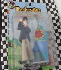 McFARLANE TOYS -THE BEATLES SERIES 2  GEORGE WITH SNAPPING TURK  NEW OLD STOCK