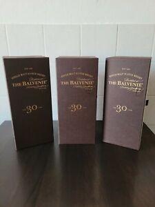 The Balvenie 30 Years Single Malt Scotch Whisky Geschenkbox 0,7l Neu
