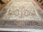 9x12 European Aubusson Design Rug Pakistani Oriental Carpet Wool Vintage Nice