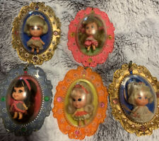 LIDDLE KIDDLES LUCKY LOCKET SET OF 5- MINT MUST SEE!
