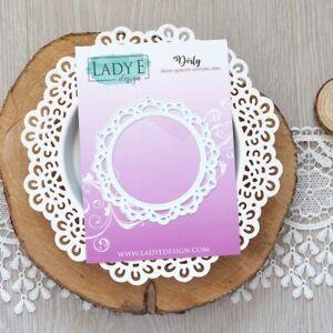 Lady E Design Doily Cutting Die, Foam Flowers, Exploding Box