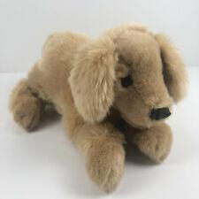 Folkmanis Puppets Golden Retriever Puppy Dog Plush Stuffed Animal