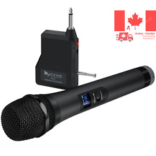 Wireless Microphone FIFINE Handheld Dynamic Microphone Wireless mic System fo...