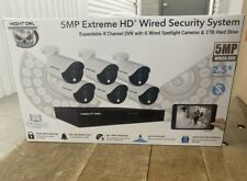 Night Owl 8 Channel 5MP Extreme HD 6 Spotlight Camera Wired Security System 1TB