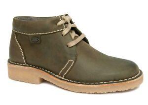 camel active HAVANNA Boots Damen Soft Crazy Horse olive grün Leder 8777032 NEU