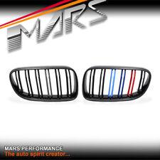Gloss Black M4 Stripe Style Bumper Bar Grill for BMW 3-Series E92 E93 LCI 10-13