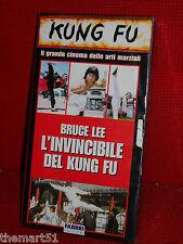 L' invincibile del Kung Fu (1974) VHS Fabbri editori Video Bruce Lee - NEW