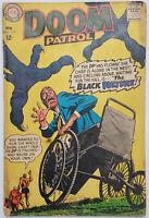 Doom Patrol #117 VG DC Silver Age 1968 The Black Vulture  - Rare Vintage!
