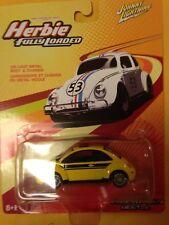Johnny Lightning Herbie Fully Loaded 2004 Volkswagen VW Beetle Yellow