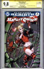 HARLEY QUINN #1 CGC 9.8 SS TERRY DODSON & CHAD HARDIN (Midtown DODSON variant)