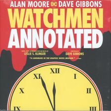 WATCHMEN THE ANNOTATED EDITION HC NEW FACTORY SEALED