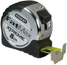 STANLEY FATMAX Bandmaß  8m/32mm Extreme Premiumqualität Gürtel-Clip