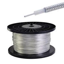 """30 Feet RG405 .086"""" Semi-rigid Coax Cable with Tinned Copper Outer Conductor"""