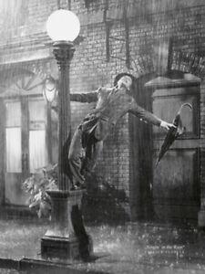 SINGING in the RAIN - Gene Kelly Tanzen Kunstdruck Poster Plakat Bild NEU