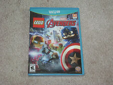 LEGO MARVEL AVENGERS...NINTENDO WII U...***SEALED***BRAND NEW***!!!!!