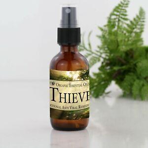 Four Thieves Organic Essential Oil Spritzer - Antiviral & Antibacterial 50ml