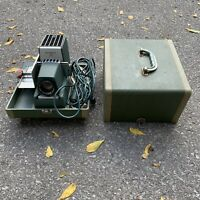 Vintage ARGUS 300 Automatic 35mm Slide Changer Projector W/ Working Bulb