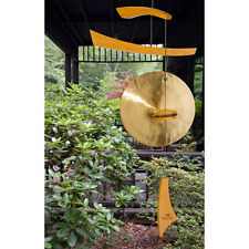 Emperor Gong Wind Chime Handcrafted Hammered Brass