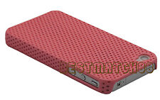 for iphone 4 4s perforated light weight case and  six colors read