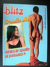 ALBO BLITZ 1985 n° 39 - ORNELLA MUTI - INSERTO ELVIRE AUDRAY