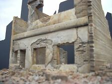 Dioramas Plus DP7 Apartment Ruins. 1/35 Military Model + Free $15 Base!