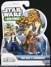 Star Wars Playskool Heroes Han Solo & Chewbacca