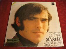 LP Spanisch Pop JOAN MANUEL SERRAT Same > Original SP NOVOLA 1969 mit Autogramm