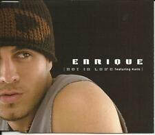 ENRIQUE IGLESIAS KELIS Not in Love w/RADIO MIX & Maybe MARK TAYLOR MIX CD Single