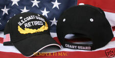 EMBROIDERED US COAST GUARD VIP RETIRED HAT USCG CAP BEANIE RET WOWCG