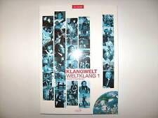 KLANGWELT WELTKLANG 1 GERALD SCHWERTBERGER inkl. CD